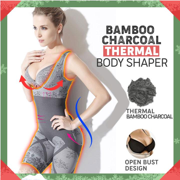 19be13f5c63 Bamboo Charcoal Thermal Hot Body Shaper – lazylullaby