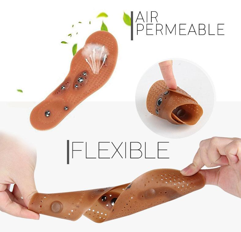 Anti-Swelling Acupressure Magnetic Insoles