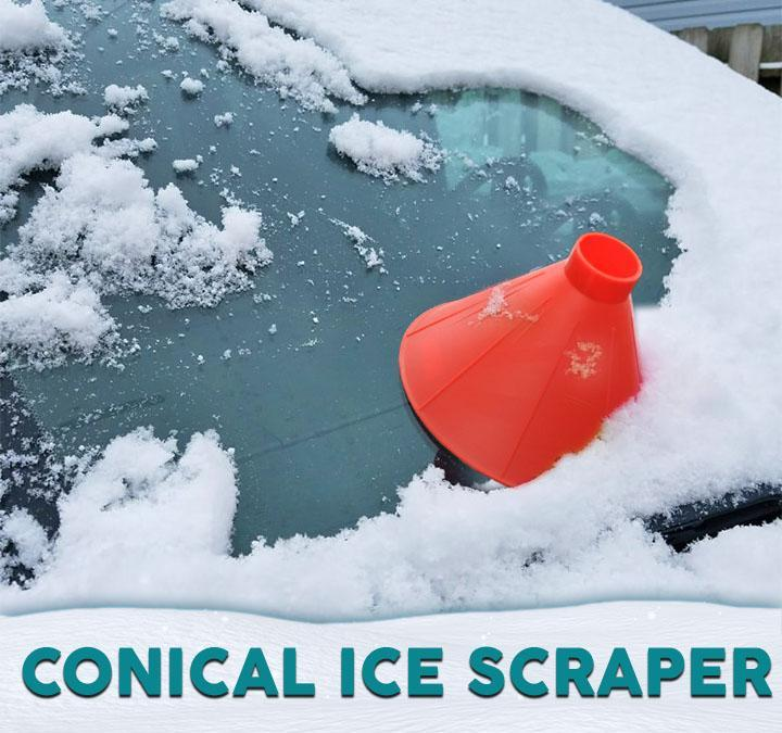 Conical Ice Scraper