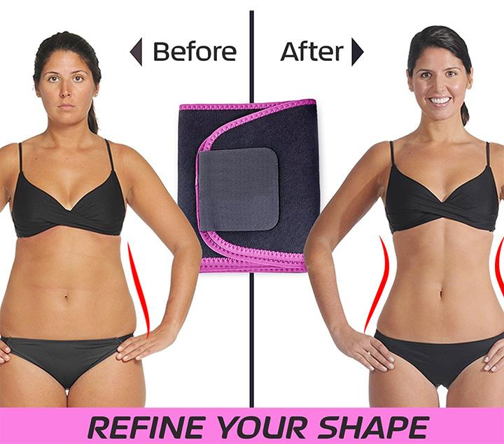 Ultra Sweat Slimming Waist Shaper