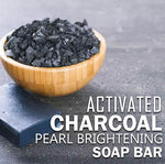 Activated Charcoal Pearl Brightening Soap Bar