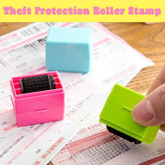 Theft Protection Roller Stamp