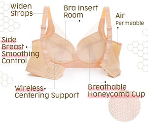 Shaping Full Coverage Minimizer Bra