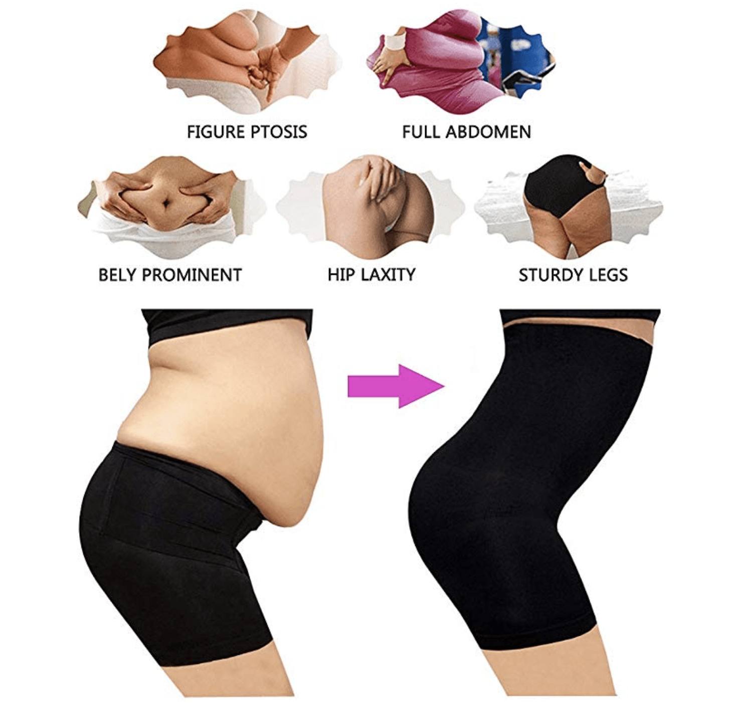 Intense Thigh & Tummy Slimming Shaper