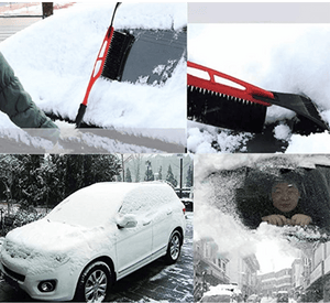 2 in 1  Snow Brush with Ice Scraper