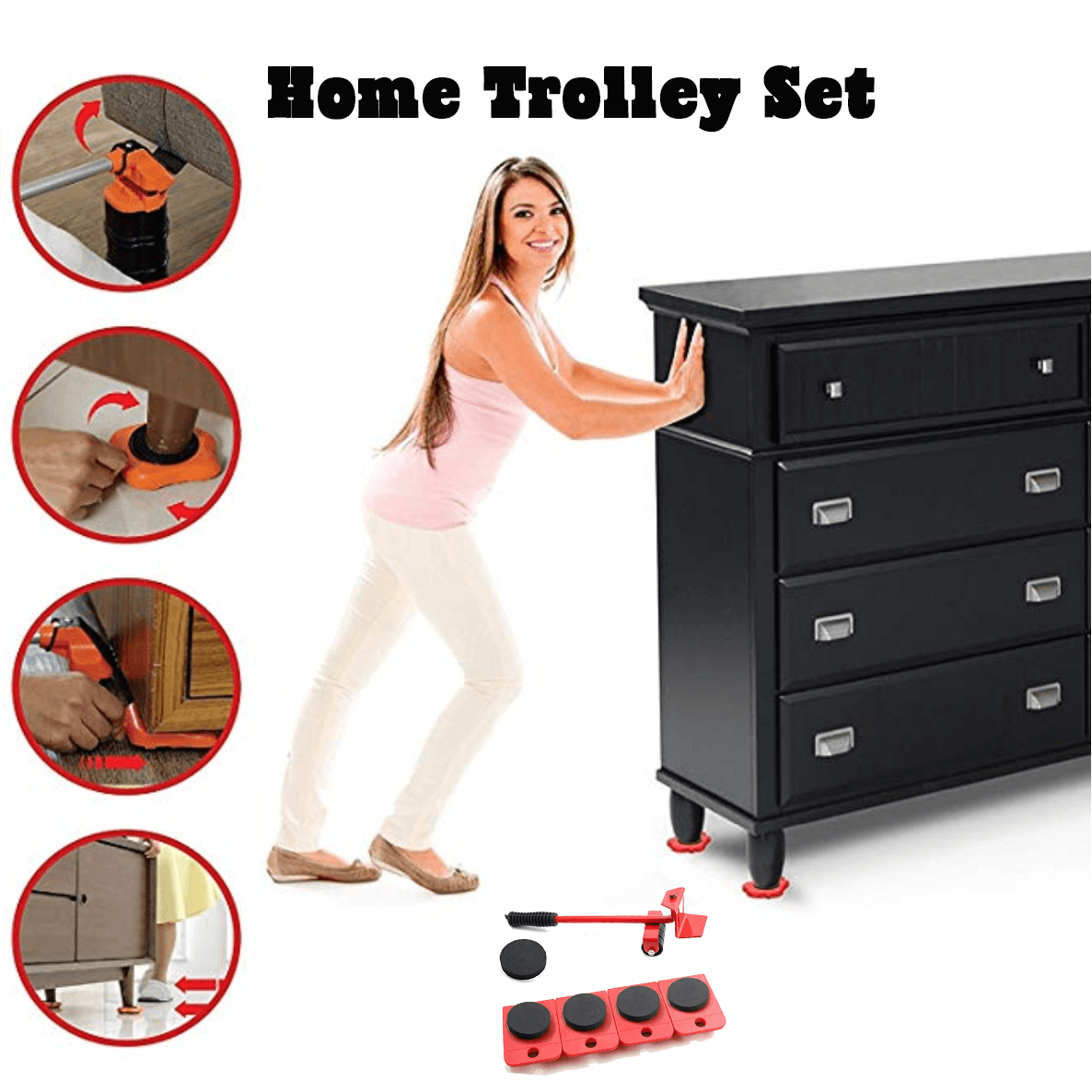 Home Trolley Set (4 pcs)