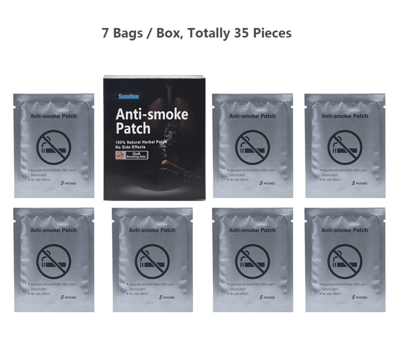 Natural Smoking Cessation Patch (35pcs)