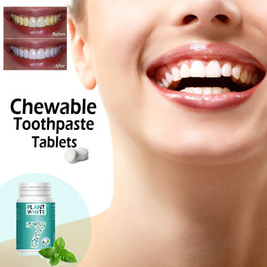 Chewable Toothpaste Tablets