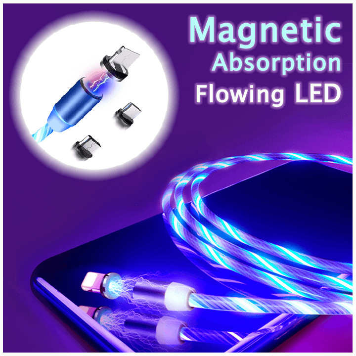 Magnetic Glare Charging Cable