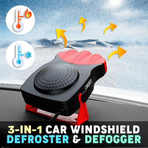 3-in-1 Car Windshield Defroster & Defogger