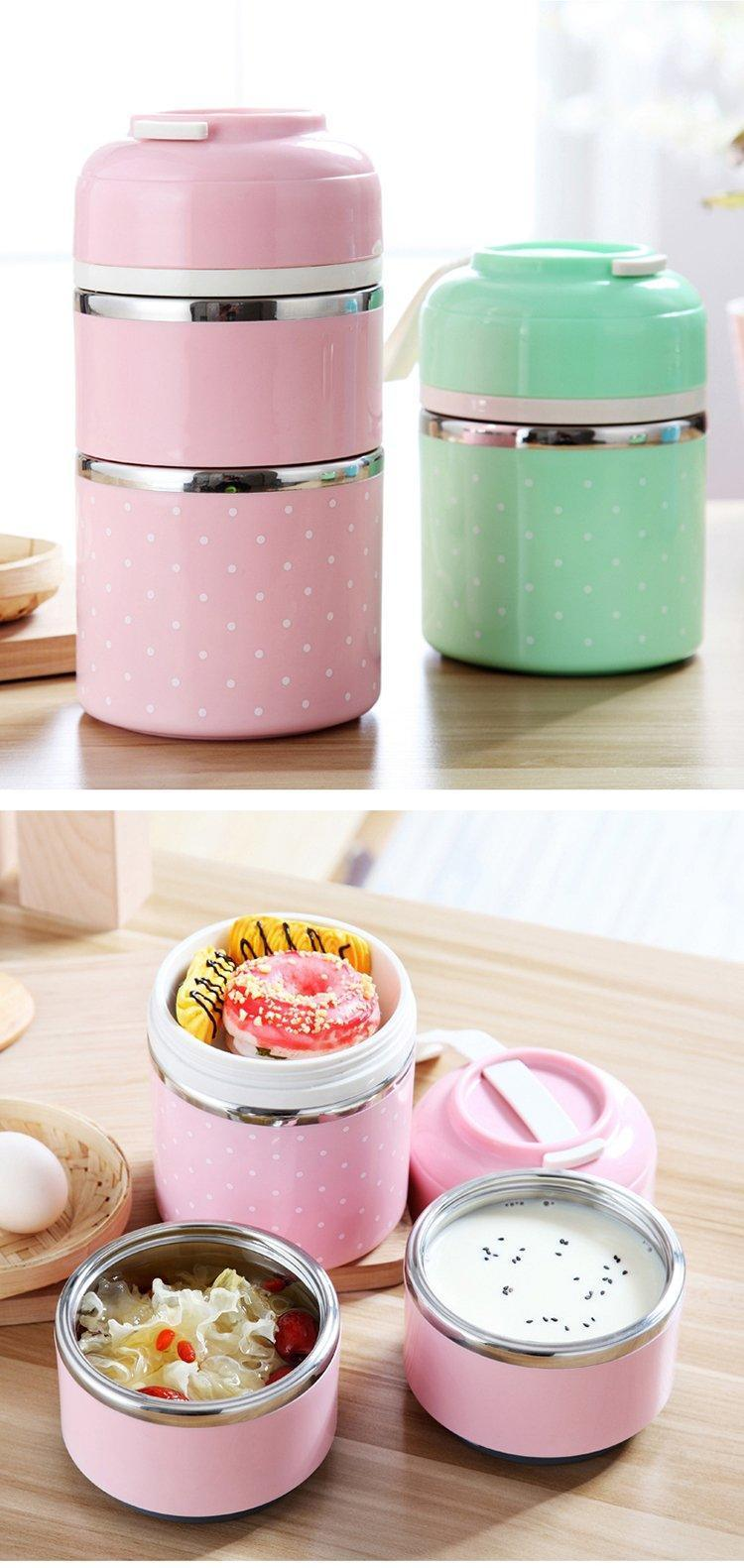 Multi-Layer Thermal Lunch Box