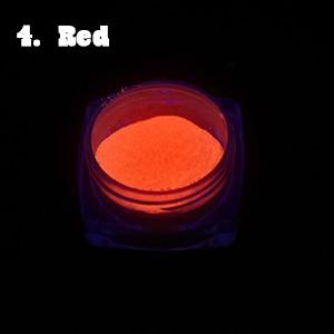 Neon Phosphor Nail Powder