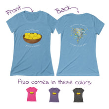 Load image into Gallery viewer, Sharknado of Lemons T-Shirt (Women's  - runs small)