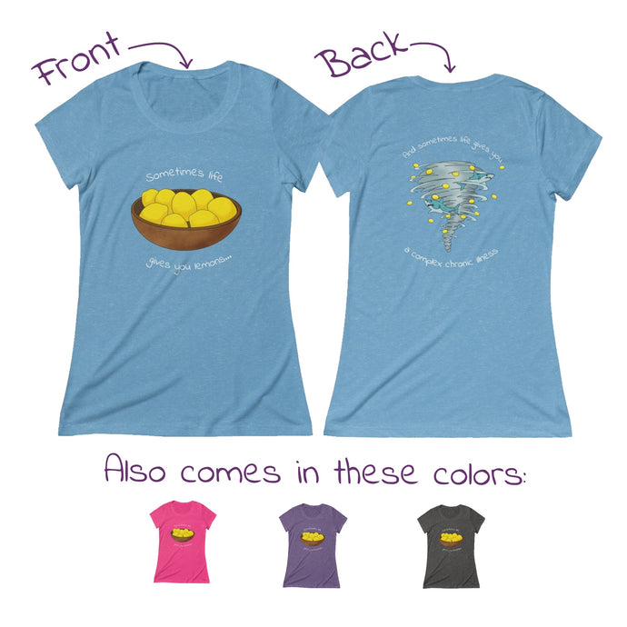 Sharknado of Lemons T-Shirt (Women's  - runs small)