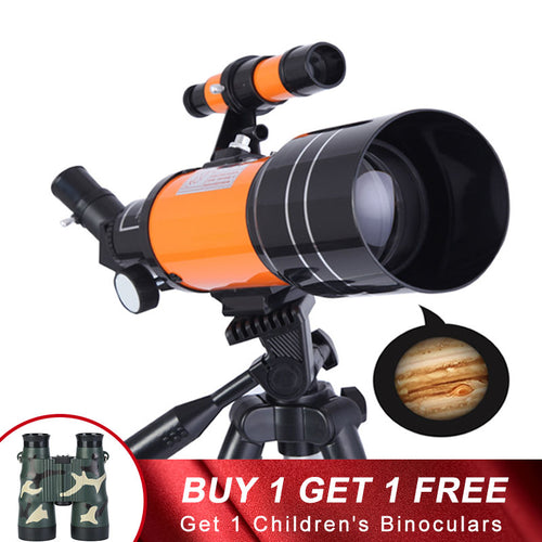 HD professional astronomical telescope night vision deep space star view moon view 1000 Monocular Telescope