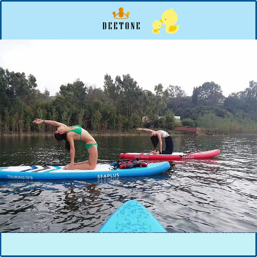 Inflatable Yoga Mats Gymnastic Mat On Water Fitness Floating INFLATABLE WATER MAT