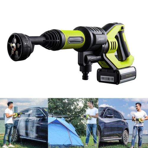 JIMMY 180W Handheld Cordless Washing Machine Washer Flushing Pump Car Tent Cleaning Tools Kit Set Snow Foam Water Power Cleaner