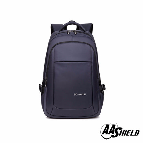 AA Shield Bulletproof Backpack Ballistic Body Armor Safe School Bag NIJ Level IIIA Plate Insert Navy
