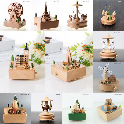 Wooden Classical Music Boxes