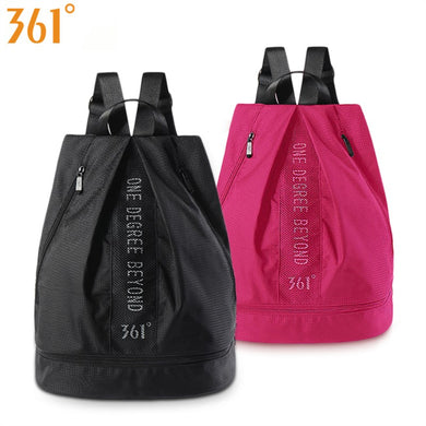 361 Sport Bag with Shoes Storage Men Women Swimming Bags Pink Black Waterproof Backpack Dry Wet Bag Pool Beach Gym Bag Fitness