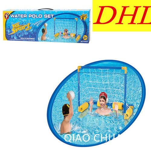 Wholesale 108pcs/lot Sport Series Swimming Pool Equipment Overwater Goal Children Water Sports Football Doors G1531
