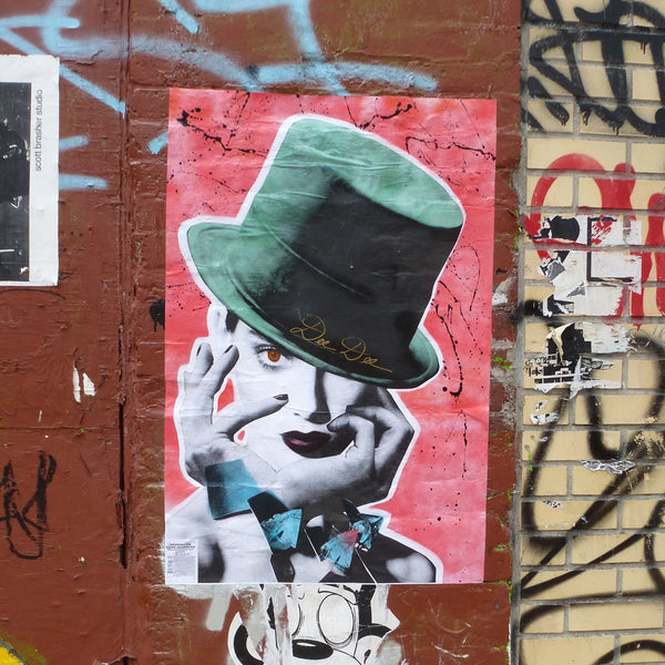 Wheatpaste by DeeDee, New York City
