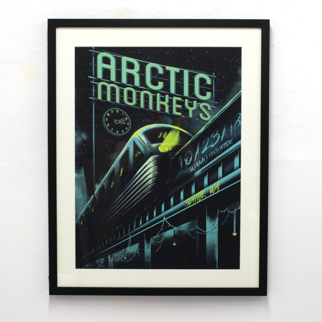 Arctic Monkeys by Arno Kiss (Framed)