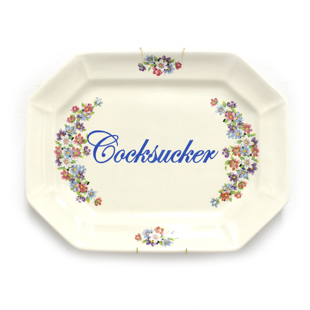 Cocksucker - Plate