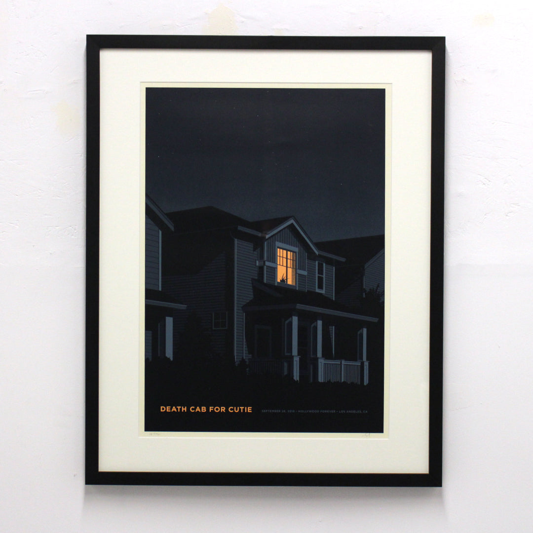 Death Cab for Cutie by Simon Marchner (Unframed)