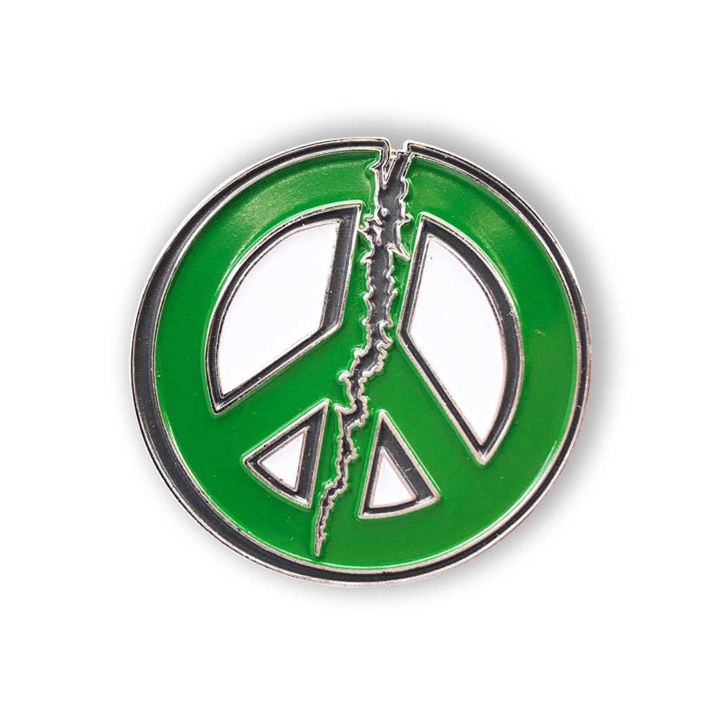 color:Broken Peace Sign