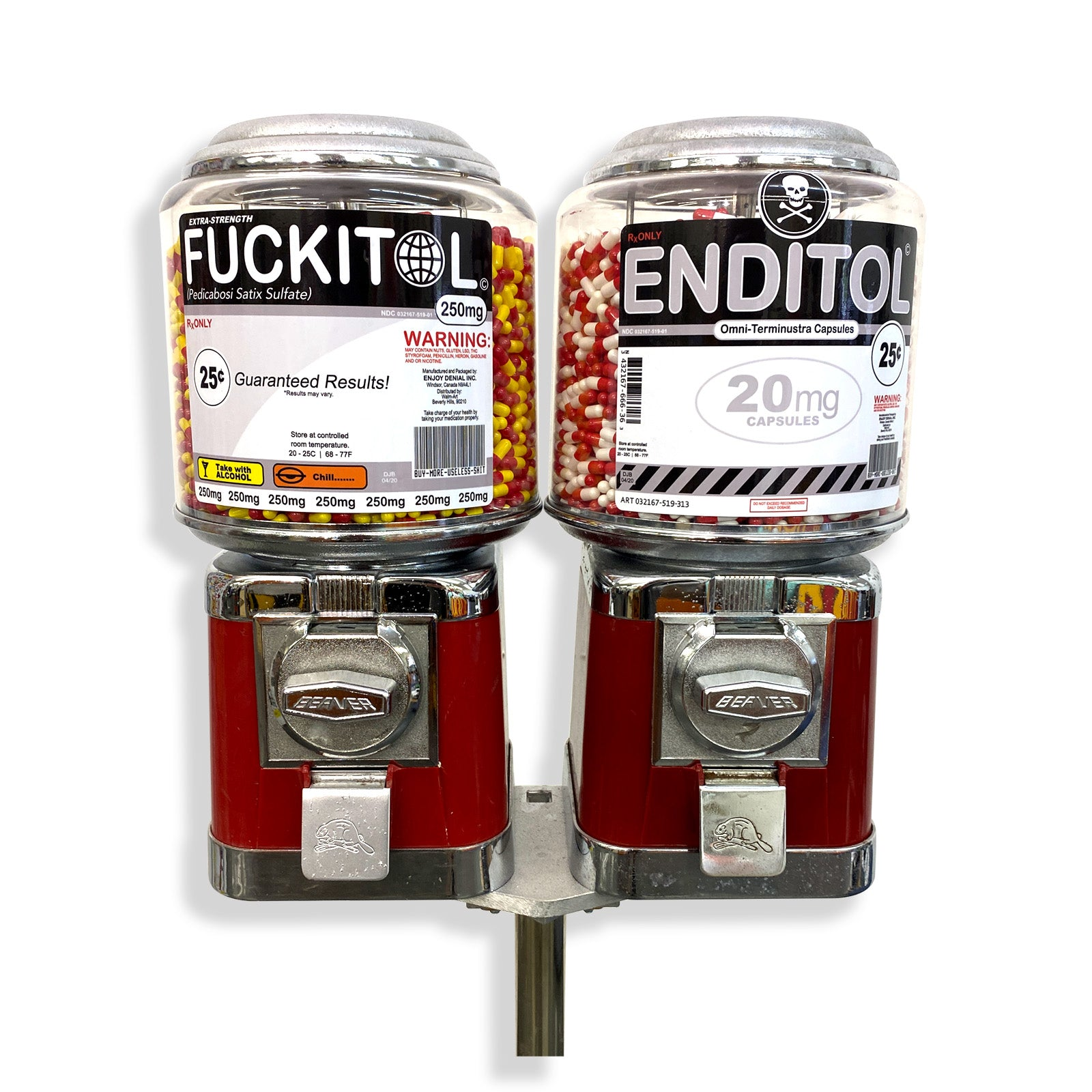 FUCKITOL, ENDITOL - Galerie Station 16