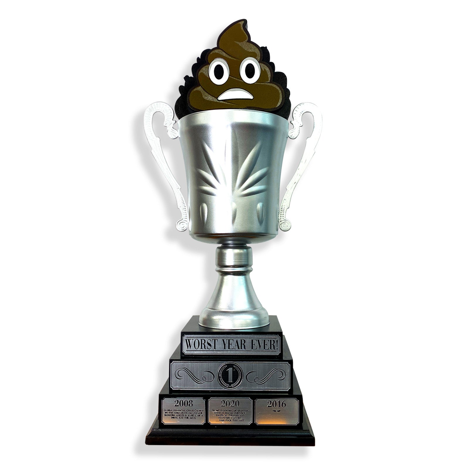Worst Year Ever Trophy