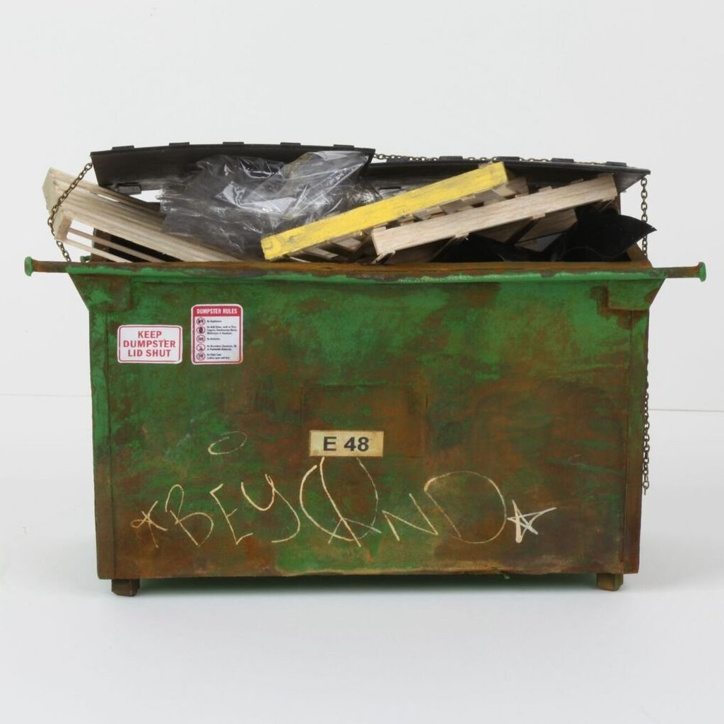 Green Dumpster - Station 16 Gallery