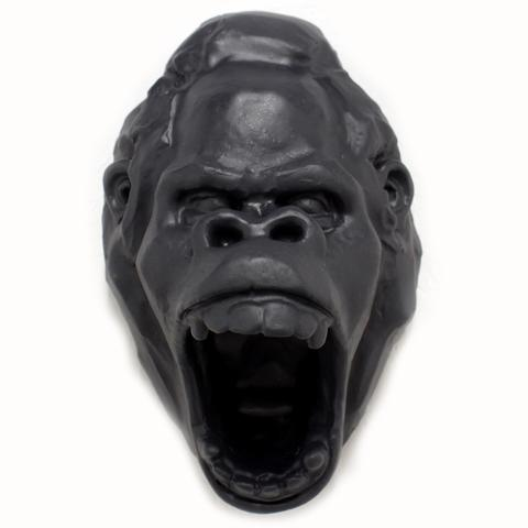 Gorilla Head (Gray) - Station 16 Gallery