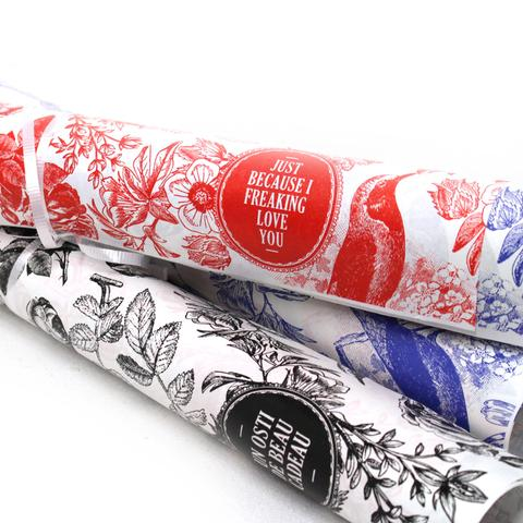 Gift Wrapping Paper Rolls - Station 16 Gallery