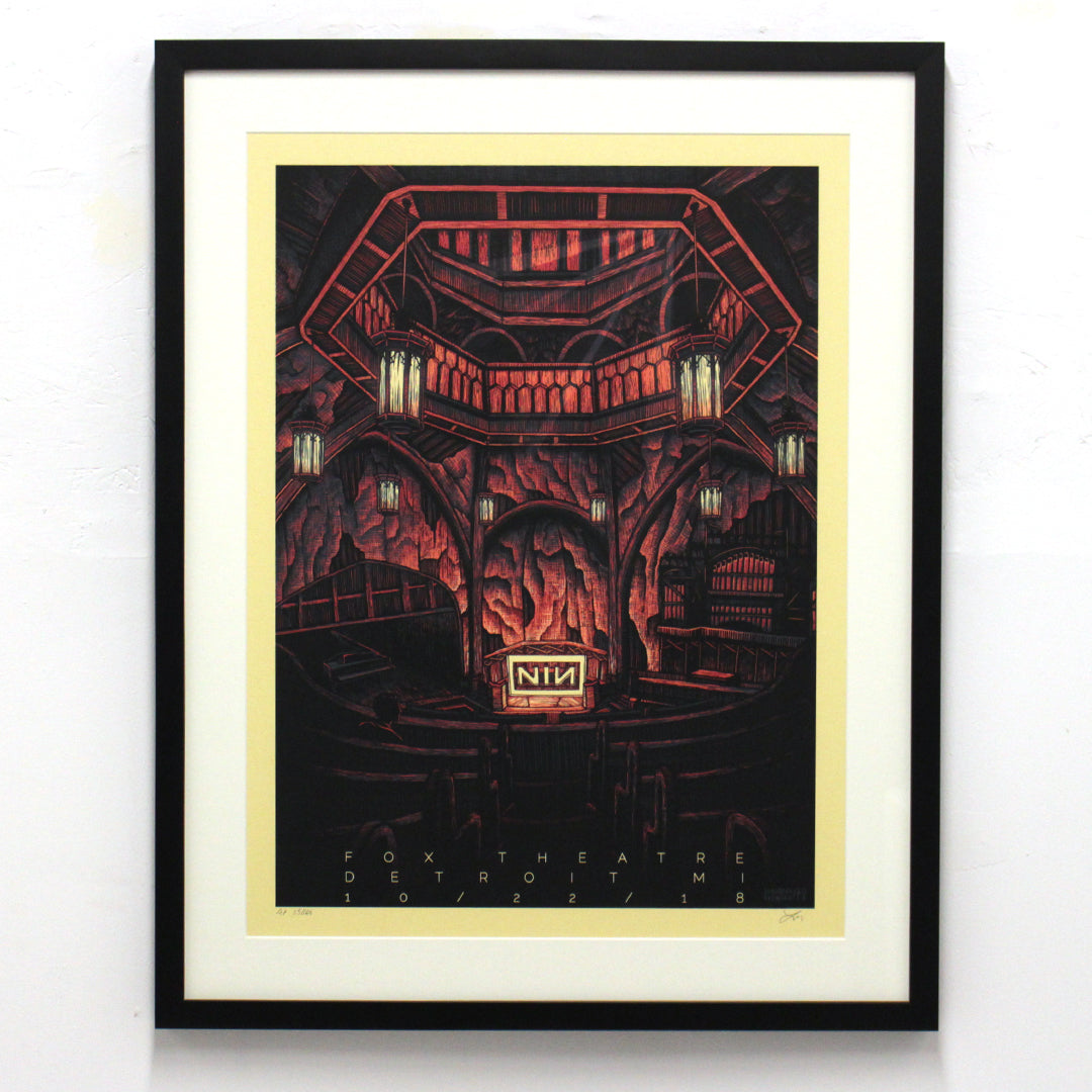 Nine Inch Nails by Luke Martin (Unframed)