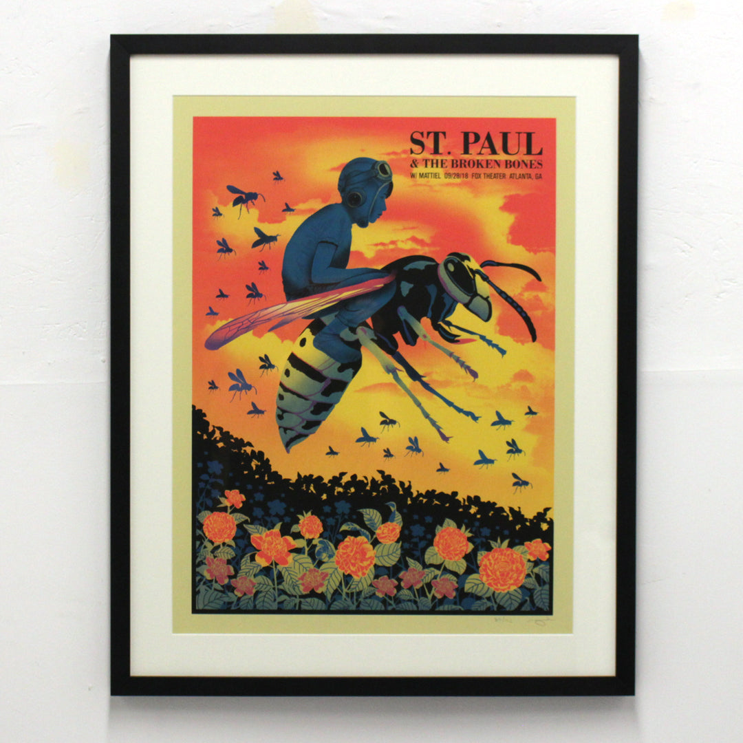 St. Paul and The Broken Bones by Methane Studios (Framed)