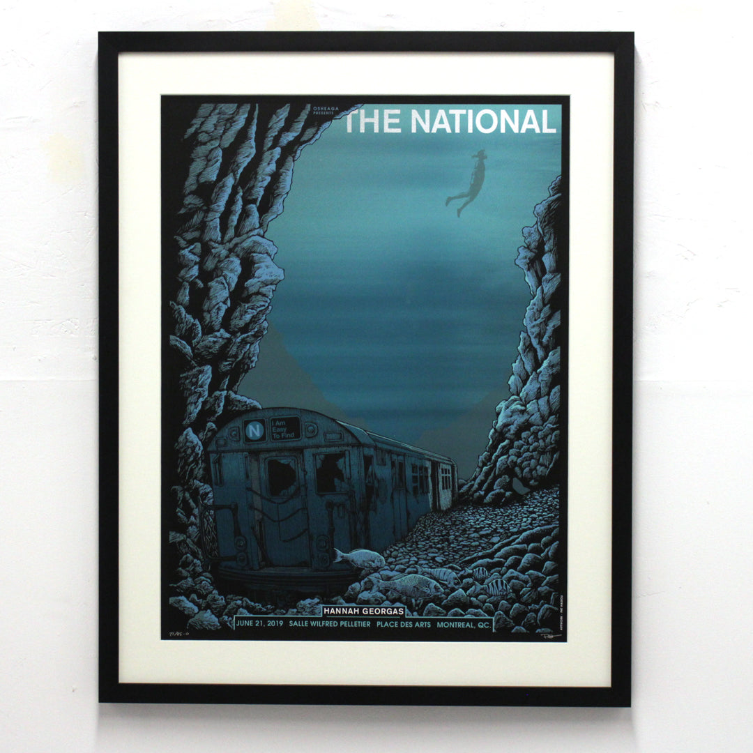 The National - Place-des-arts by Pat Hamou (Framed)