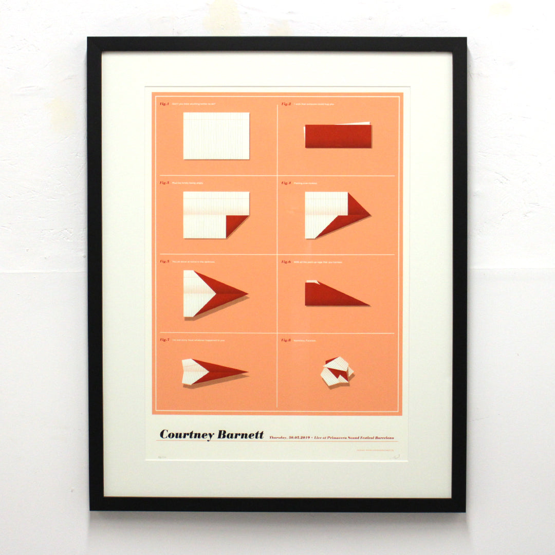Courtney Barnette by Simon Marchner (Framed)
