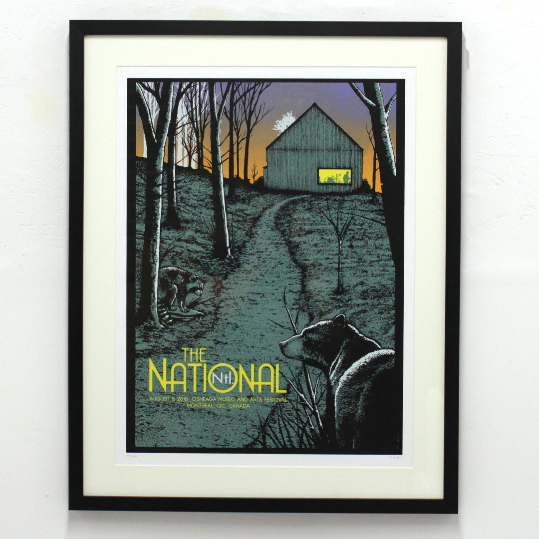 The National - 2018 Edition by Pat Hamou (Framed)