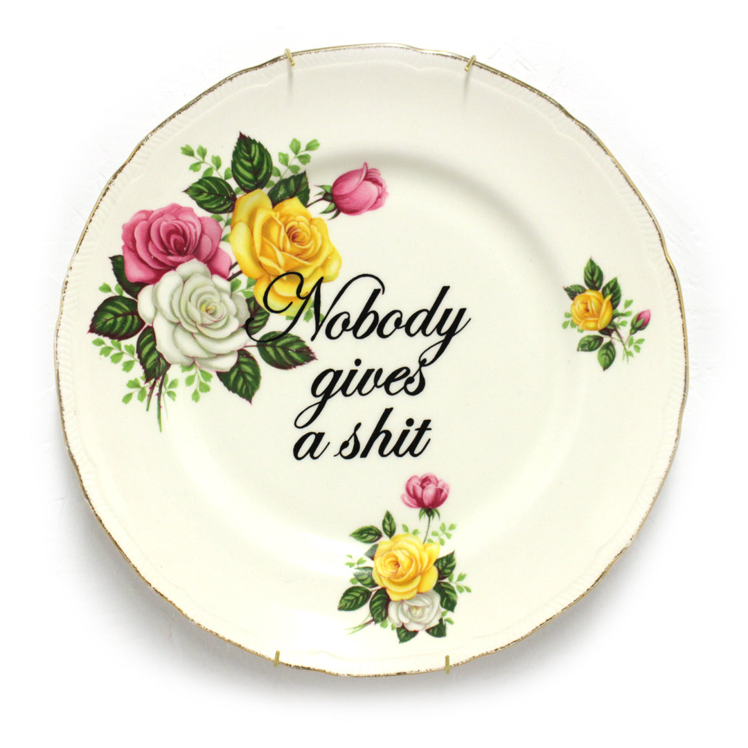 Nobody Gives a Shit - Plate