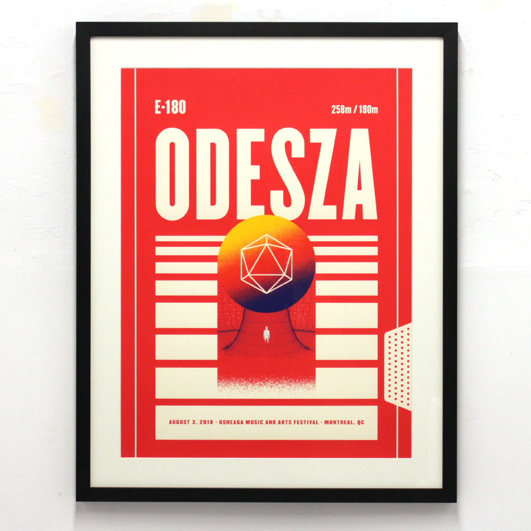 ODESZA by Zoca Studio (Framed)