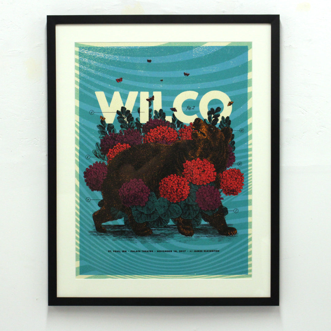 Bear - Wilco by Zoca Studio (Framed)