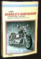 Clymer Repair Manual for Ironhead Sportster (1959-1985)
