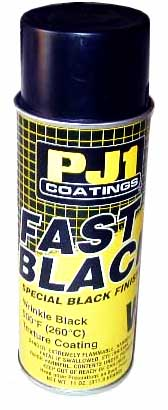 PJ1 Wrinkle Black 500 Degree Texture Paint (11 Ounce Can)