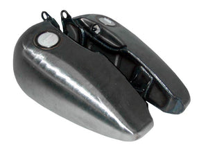 Late Model Flat Side Fat Bob Style Gas Tank (4.2 Gallon, Weld-on