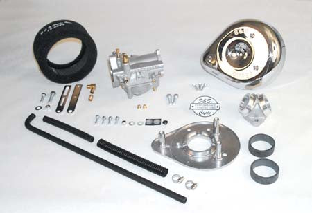 S&S Super B Carburetor (Sportster With O-Ring Heads)