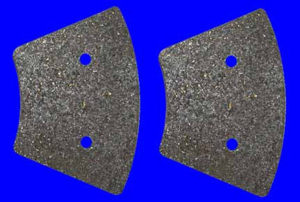 Brake Pads (Front, FX, Sportster 4 Speed Single Disc, 1974-1977)