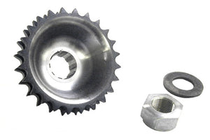 Offset Engine Sprocket For Wide Tire Big Twin (24 Tooth)