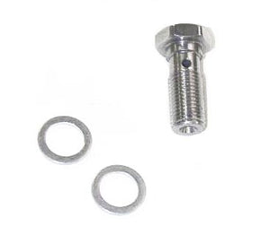 Mach 3 Stainless Steel Banjo Bolt (3/8 Inch - 24)